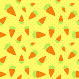 Carrots Seamless Pattern Royalty Free Stock Photo