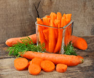 Carrots slices Royalty Free Stock Photo
