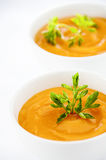Carrots Soup Royalty Free Stock Images