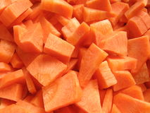 Carrots texture. Carrot slices texture Royalty Free Stock Photography