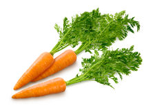 Carrots  on white Royalty Free Stock Photography