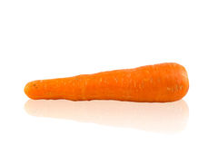 Carrots on a white background Stock Images