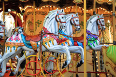 Carrousel à Avignon, France Photographie stock