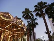 Carrousel ночи Стоковые Изображения RF