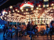 carrousel stock foto
