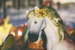 carrousel Royalty-vrije Stock Afbeelding