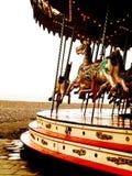 Carrousel avec des chevaux Image libre de droits
