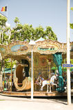 Carrousel Cannes Frankrijk Franse Riviera Royalty-vrije Stock Foto's