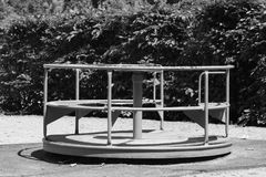 Carrousel. On a playground Royalty Free Stock Photos