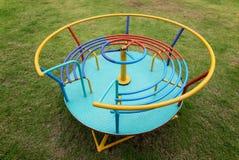 Carrousel coloré d'enfants Photo libre de droits