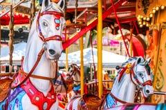 Carrousel de cheval Photos stock