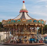 Carrousel de couleur Images stock