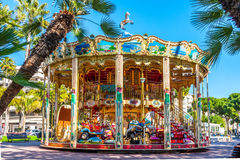 Carrousel de cru Photographie stock
