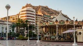 Carrousel de vintage dans Alicante clips vidéos