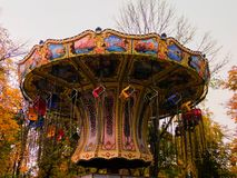 Carrousel du `s d'enfants Photos stock
