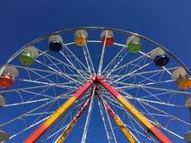 Carrousel en hemel Stock Foto