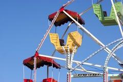 Carrousel et ciel Photographie stock libre de droits