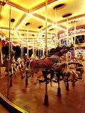 Carrousel Hong Kong Disneyland royalty-vrije stock foto