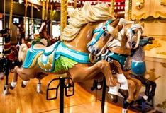 Carrousel Horse Stock Foto's