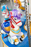 Carrousel. Isolated on a white background Royalty Free Stock Image