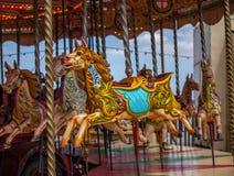 Carrousel koń Obrazy Royalty Free