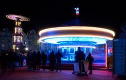 Carrousel léger photo libre de droits