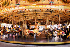 Carrousel, Luna Park, Melbourne Image libre de droits