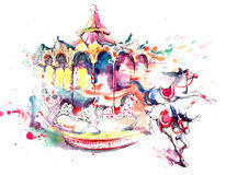 Carrousel Royalty Free Stock Images