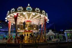 Carrousel in Moskou Royalty-vrije Stock Fotografie