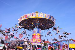 Carrousel, Oktoberfest 2013 royalty-vrije stock afbeeldingen