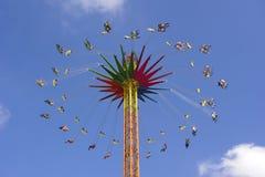 Carrousel in Oktoberfest in München royalty-vrije stock fotografie