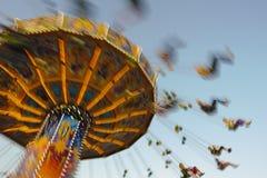 Carrousel in Oktoberfest in München royalty-vrije stock afbeelding