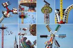 Carrousel op het Beierse volksfestival Oktoberfest royalty-vrije stock fotografie