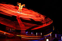 Carrousel rouge Photo libre de droits