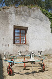 Carrousel, tour traditionnel de champ de foire rome Image libre de droits