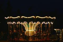 Carrousel Velden, Autriche Images libres de droits
