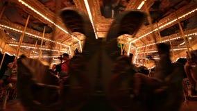 Carrousellijn stock video