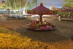 Carrouselmachine Stock Foto's