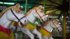 Carrouselpaarden Royalty-vrije Stock Afbeeldingen