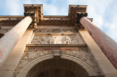 Carroussel arch in Paris Royalty Free Stock Photos