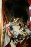 Carroussel Pferde stockbild