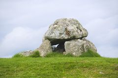 Carrowmore megalithic cemetery Royalty Free Stock Photo