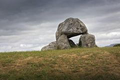 Carrowmore megalithic cemetery royalty free stock photography