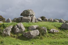 Carrowmore megaliths. Ancient megalithic tomb at Carrowmore, County Sligo, Ireland Stock Images