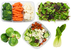 Variety of healthy vegetables Royalty Free Stock Photos