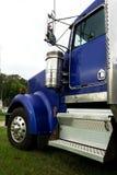 Carrozza blu del camion Fotografie Stock Libere da Diritti