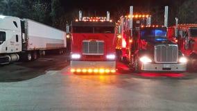 Carrozza decorata sopra il camion Fotografia Stock