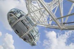 Carrozza dell'occhio di Londra Immagini Stock Libere da Diritti