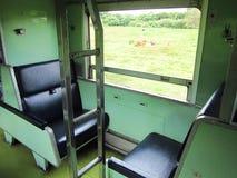 Carrozza ferroviaria della classe della Tailandia seconda Fotografia Stock