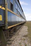 Carrozza ferroviaria ferroviaria Fotografia Stock